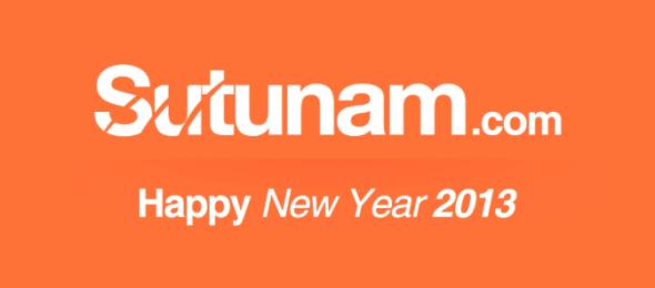 Sutunam Chúc mừng năm mới 2013