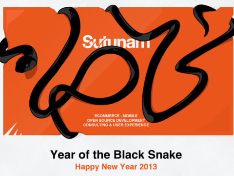 Năm mới Quý Tị, toàn thể đội ngũ Sutunam chúc quý vị kỳ nghỉ lễ vui vẻ!