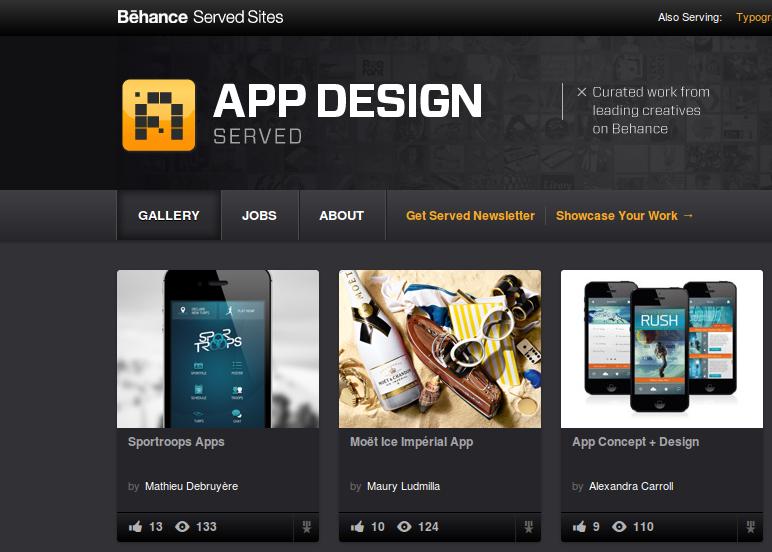 Design tốt nhất cho ứng dụng di động của Sportroops?