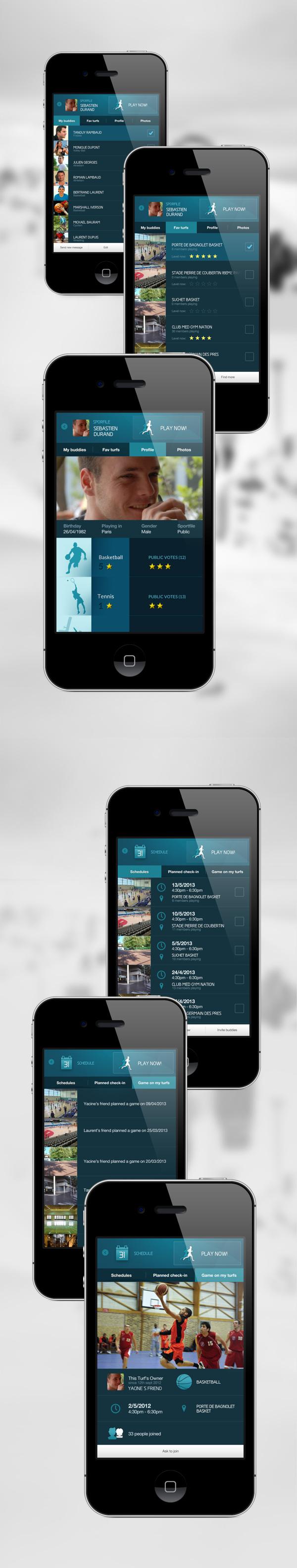 Best App mobile design