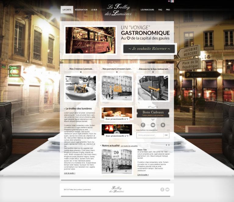 Phát triển web Symfony Trolley des Lumieres full