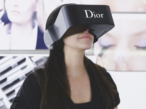 Kính thực tế ảo Dior Eyes – Thời trang và công nghệ số