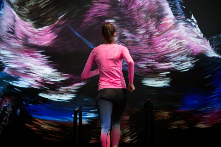 Nike công nghệ mới chạy tương tác hình ảnh kỹ thuật số