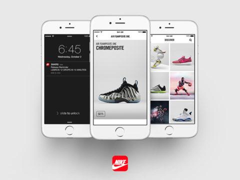 Nike chính thức ra mắt ứng dụng di động SNKRS