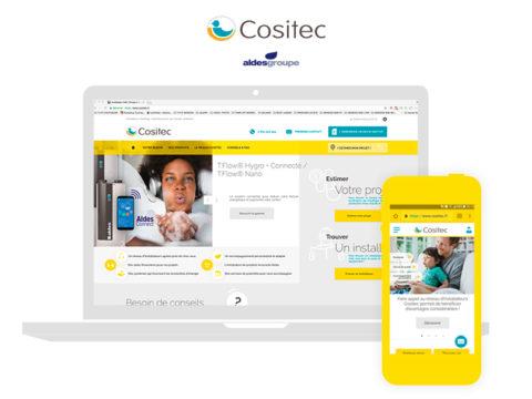 Dự án Wordpress mới nhất của chúng tôi đã chính thức được đưa vào sử dụng: website COSITEC