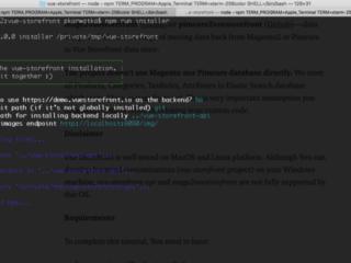Hướng dẫn cài đặt và tích hợp Vue Storefront với Magento 2