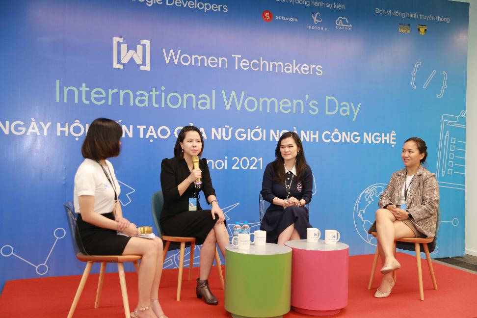 Nữ giới công nghệ Ngày hội kiến tạo IWD 2021