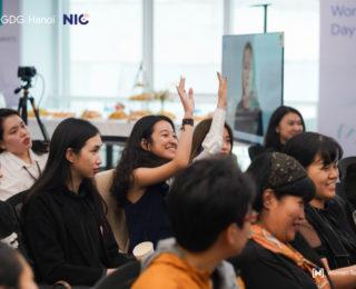 IWD Hanoi 2021 Nữ giới đang dần trở thành người kiến tạo trong các công ty công nghệ